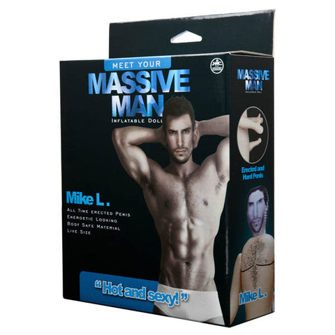 Massive Man - Mike L - Male Inflatable Love Doll - Early2bed