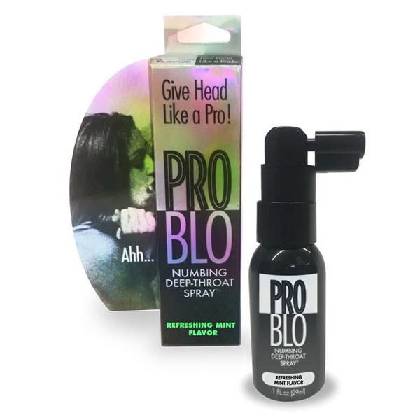 Pro Blow Deep-Throat Spray - Mint Flavoured Deep Throat Spray - Early2bed