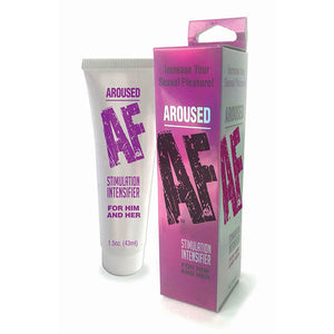 Aroused AF - Female Stimulation Cream - 44 ml (1.5oz) Tube - Early2bed