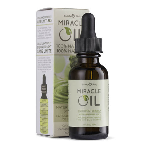 Miracle Oil - Skin Soothing Oil with Hemp Seed - 30 ml Dropper Bottle - Early2bed