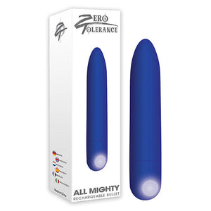 Zero Tolerance All Mighty Bullet - Purple 9.1 cm (3.6'') USB Rechargeable Bullet - Early2bed