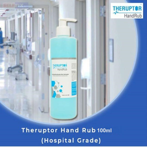 2x Theruptor Hand Rub Rubbing Sanitisers IsoPropyl Alcohol 70% Disinfection - Early2bed