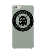 VidaThreads Black Logo iPhone 6+ Custom Case