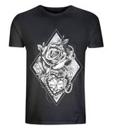 Hearts and Roses Classic Tee by L Sharples - VidaThreads