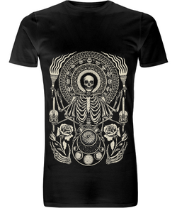 The Skeleton King Long T Shirt D Sarok