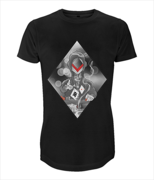 N07 Long Men's T-Shirt The Diamond by J Nelson