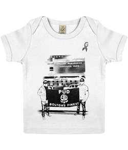 EPB01 Baby Lap T-shirt Pud Bolton Legend charity tee
