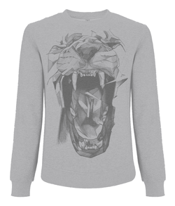 Lion Sketch Sweatshirt by Dan Watson - VidaThreads