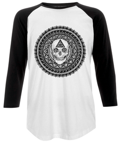 Third Eye Mens Baseball T Shirt design by D Sarok