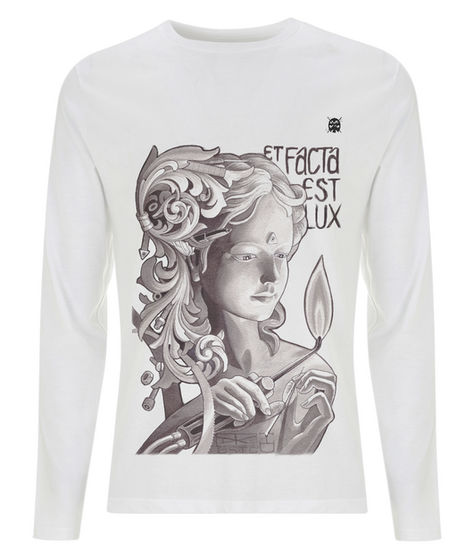 Old Flame Long Sleeved T Shirt by Rigzi