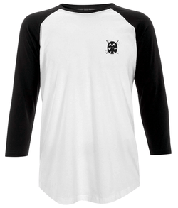 Vida Threads Baseball Tee Single Skull Logo - VidaThreads
