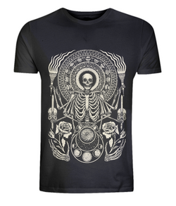 The Skeleton King Classic T Shirt D Sarok