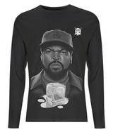 Ice Cube Long Sleeved Tee by J Winters - VidaThreads
