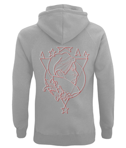 David Bowie Outline Art Hoodie by D Clemmett - VidaThreads