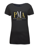 Women's PMA by Shinny Black