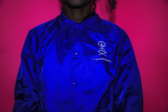 Blue GVT Coach Jacket