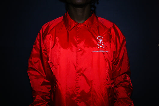 Red GVT Coach Jacket