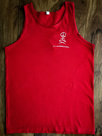 Good Vibe Tribe Red Logo Tank