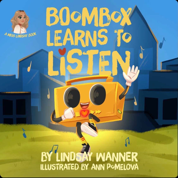 Boombox Learns to Listen Story Book PREORDER