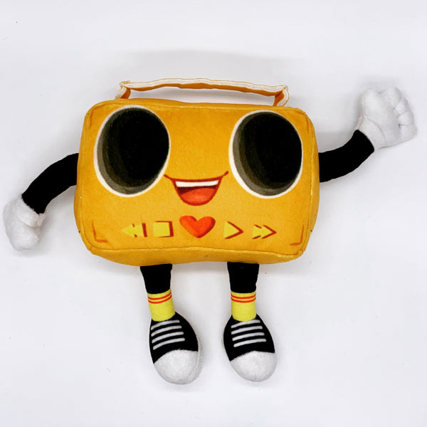 Boombox Musical Plush Toy PREORDER