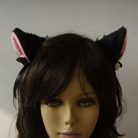Cute Stuff - Bell Cat Ears Hair Clip 6 Colors