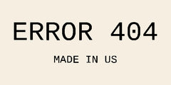 Error 404 Clothing