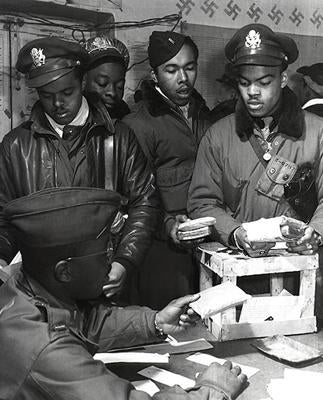 WWII African American Pilots in Italy March 1945 | McMahan