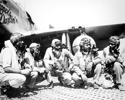 Tuskegee Airmen 332nd Fighter Group Ramitelli Italy WWII | McMahan