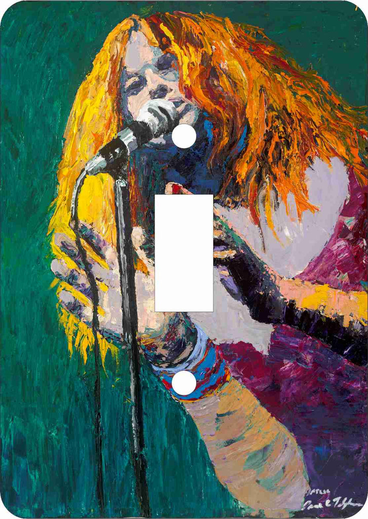 Janis Joplin Switch Plate Cover