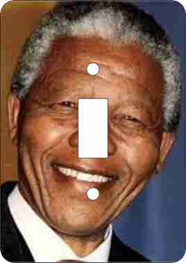 Nelson Mandela Switch Plate Cover