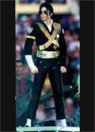 Michael Jackson-Black and Gold