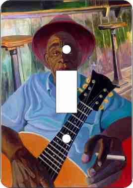 Mississippi John Hurt Switch Plate Cover