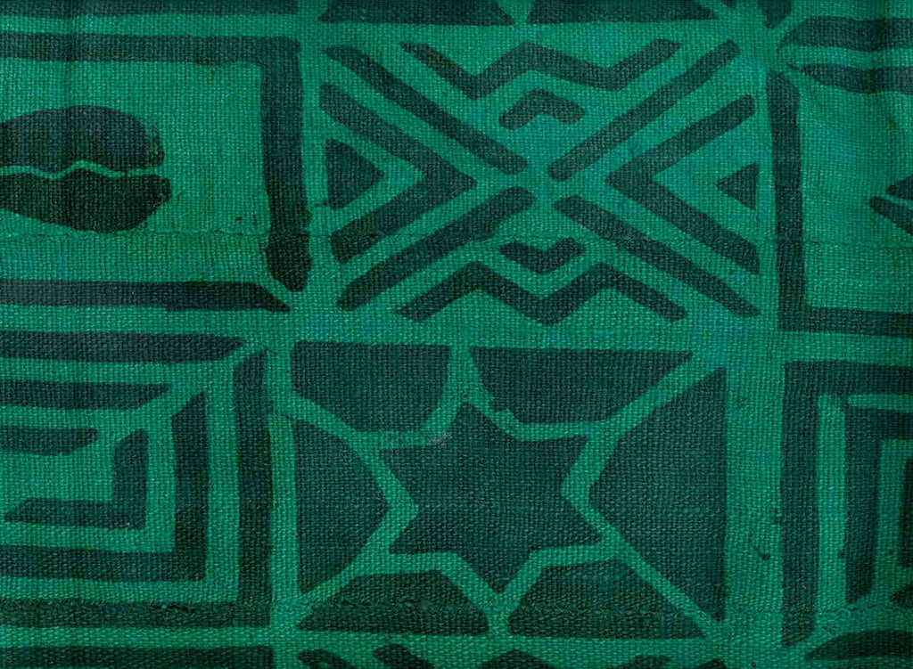 Mud Cloth Green