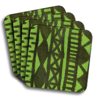 Mud Cloth Lime