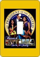 President Barack Obama-First Family Switch Plate Cover