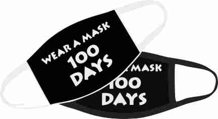 Wear a mask 100 days | Biden-Harris