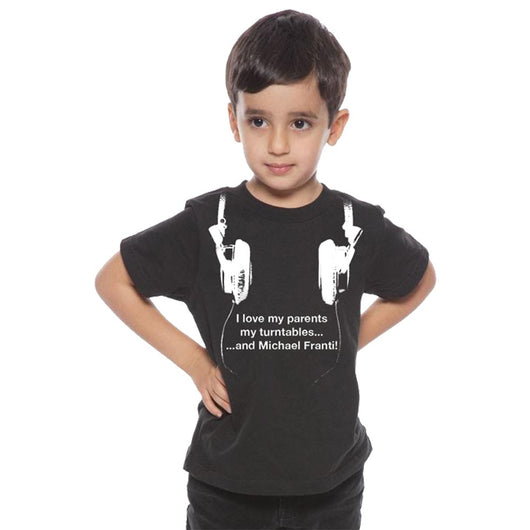 Michael Franti - Headphones Organic Cotton Kid's T-Shirt