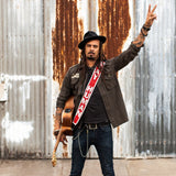 Limited Edition Peace Symbol Guitar Strap by Michael Franti