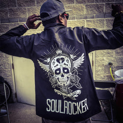 Michael Franti - SKULLROCKER Nylon Windbreaker Jacket