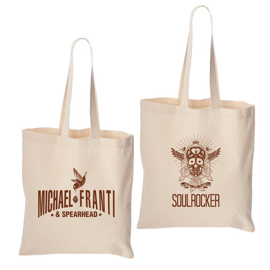 Michael Franti -  SOULROCKER Tote Bag