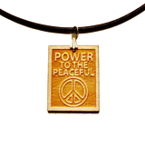 Michael Franti - Power To The Peaceful Necklace