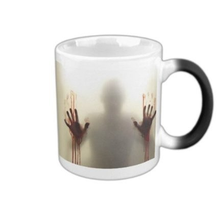 Zombie Apocalypse Themed Color Changing Eco-Friendly Porcelain Coffee Mug (350ml) - AccessMEN Store