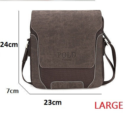 Fashion Designer Brand Men Vintage Hand/Shoulder/Crossbody Bag - AccessMEN Store