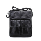 Top Quality Genuine Leather Men Fashion Retro Shoulder/Crossbody Bag - AccessMEN Store