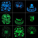 Wolf Hip-Hop Graffiti Fluorescent Light Baseball Cap - AccessMEN Store