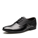 High Quality Leather Men Lace-Up Shoes - AccessMEN Store