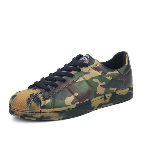 Fashion Non-Slip Camouflage Casual Shoes - AccessMEN Store