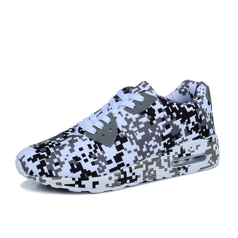 Fashion Digital Camouflage Unisex Lace-Up Shoes - AccessMEN Store