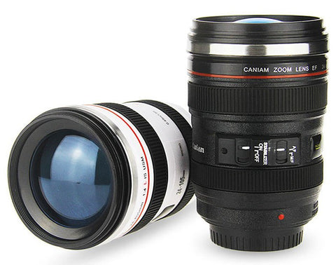 Digital Camera Lens Replica Coffee Mug (350ml) - AccessMEN Store