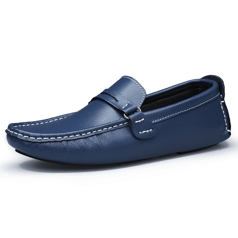 Handmade Genuine Leather Men Fashion Loafer Shoes - AccessMEN Store